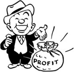 Funny Profit Man